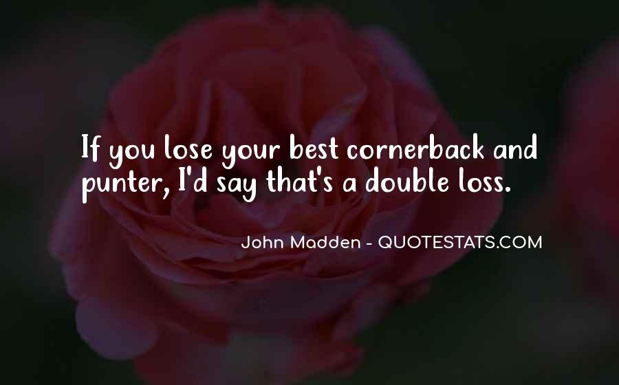 Cornerback Quotes #1471786