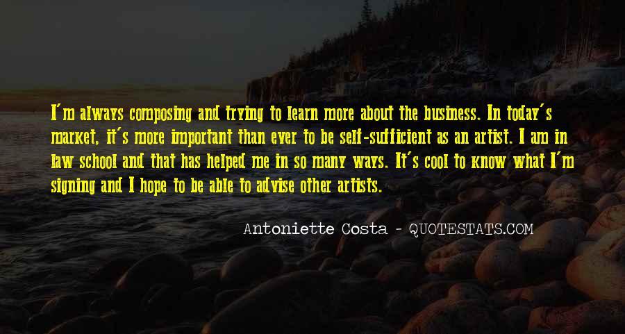 Costa's Quotes #1073387