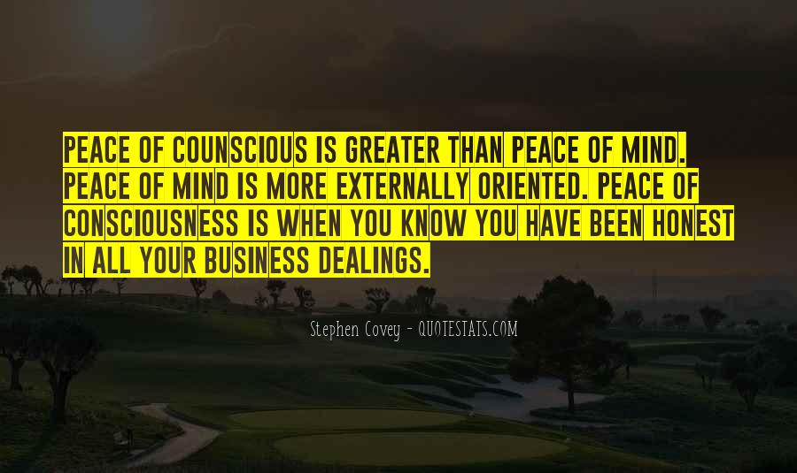 Counscious Quotes #357119