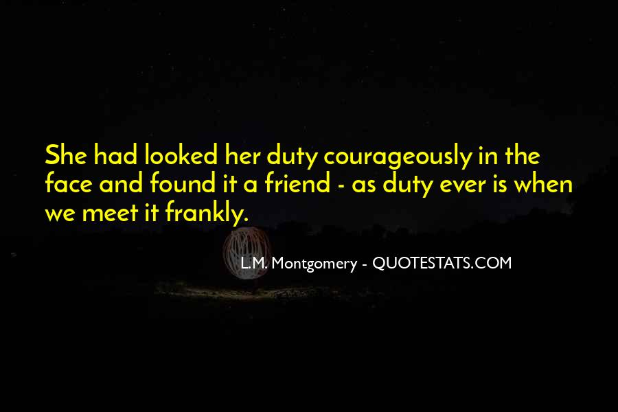 Courageously Quotes #19406
