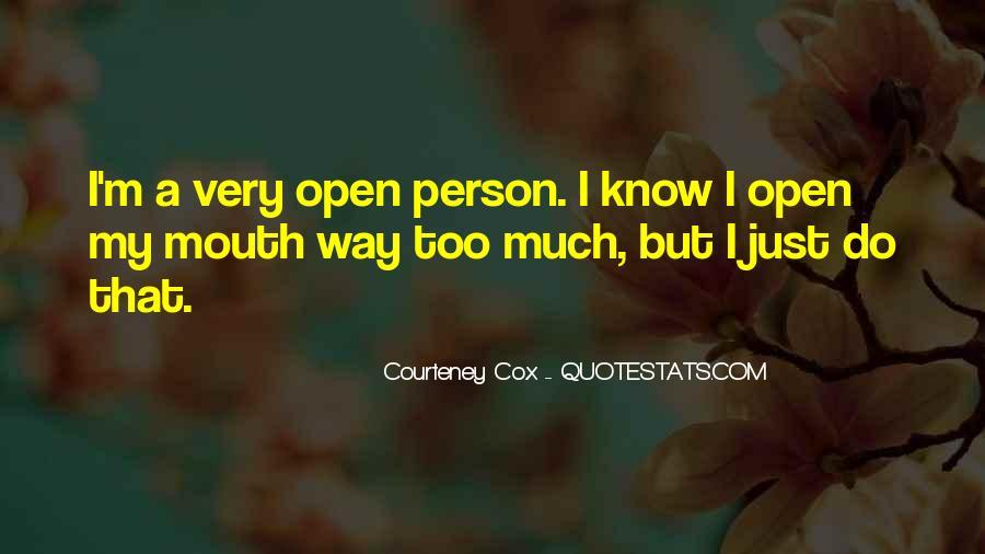Courteney Quotes #1506007