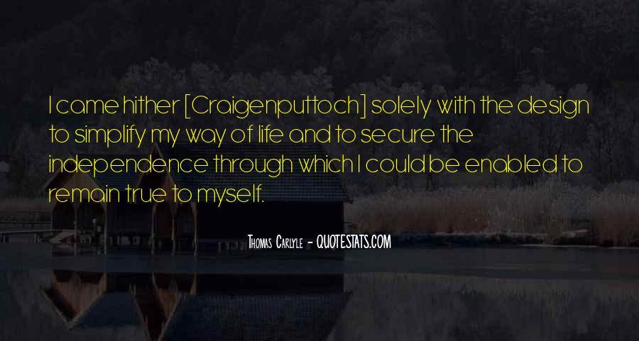 Craigenputtoch Quotes #244844