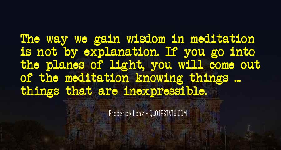 Quotes About The Inexpressible #1816491