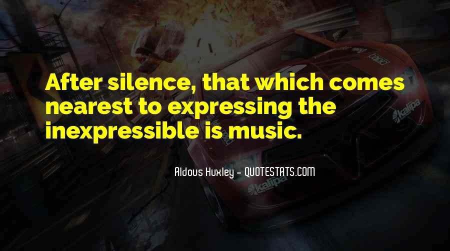 Quotes About The Inexpressible #203417