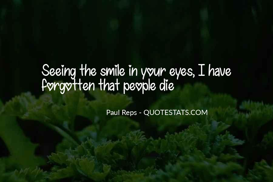 Quotes About Seeing His Smile #1163970