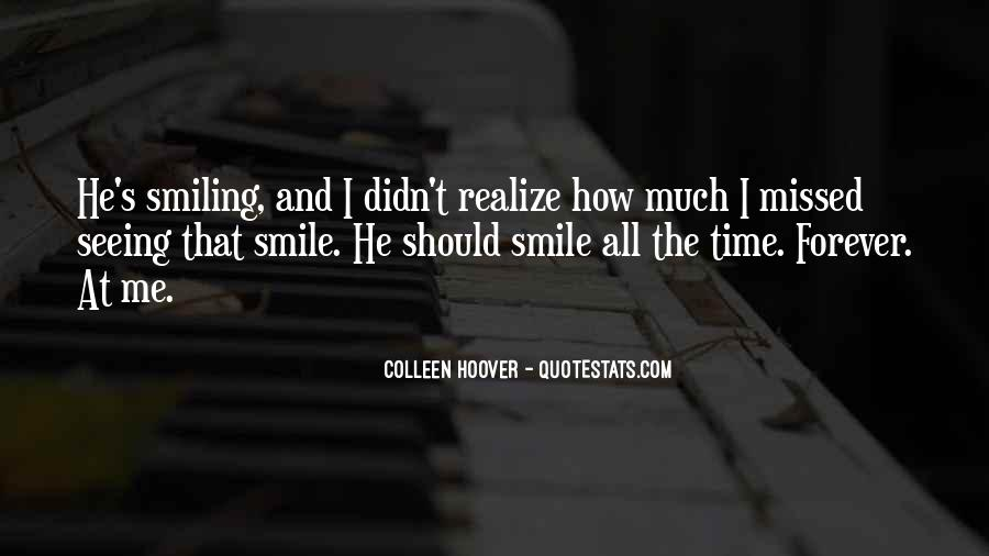 Quotes About Seeing His Smile #1464174