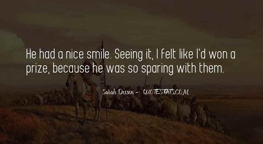 Quotes About Seeing His Smile #722808
