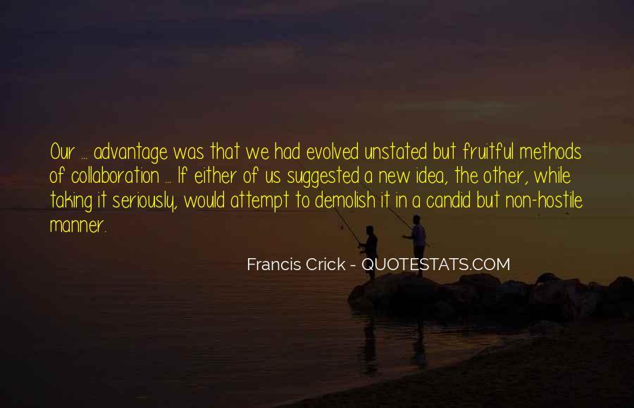 Crick's Quotes #106