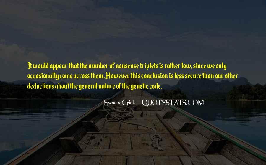 Crick's Quotes #1066044