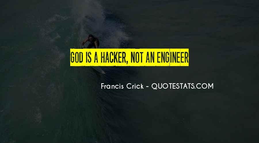 Crick's Quotes #1135102