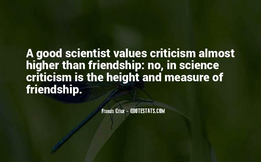 Crick's Quotes #1141517