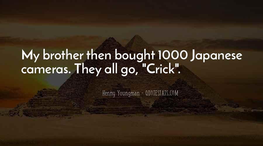 Crick's Quotes #1189937