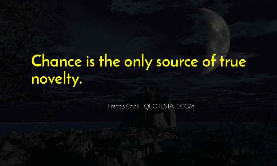 Crick's Quotes #1202870