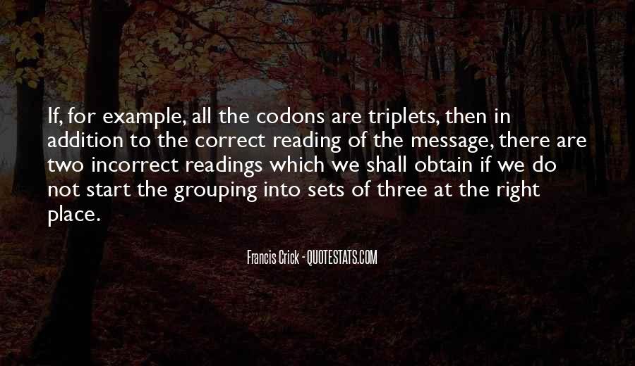Crick's Quotes #12167