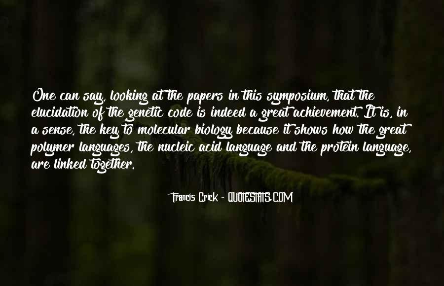 Crick's Quotes #1277041