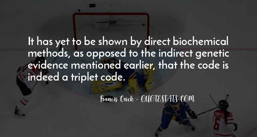 Crick's Quotes #221417
