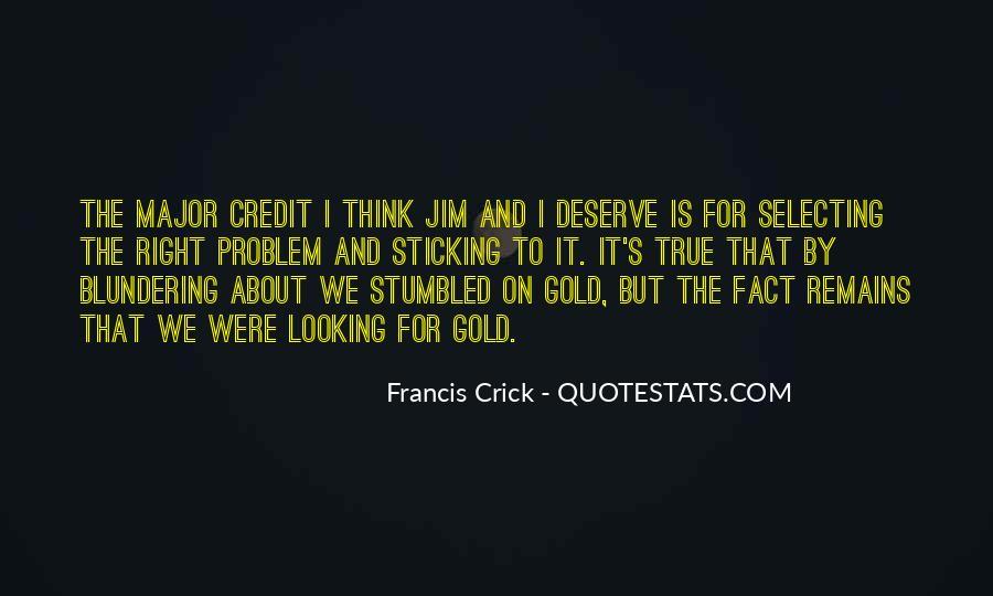 Crick's Quotes #258088