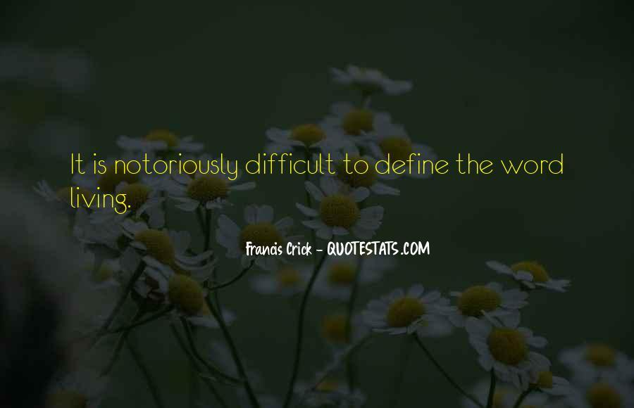 Crick's Quotes #263210