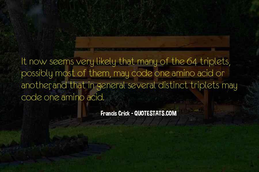 Crick's Quotes #312994