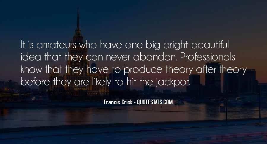 Crick's Quotes #335635