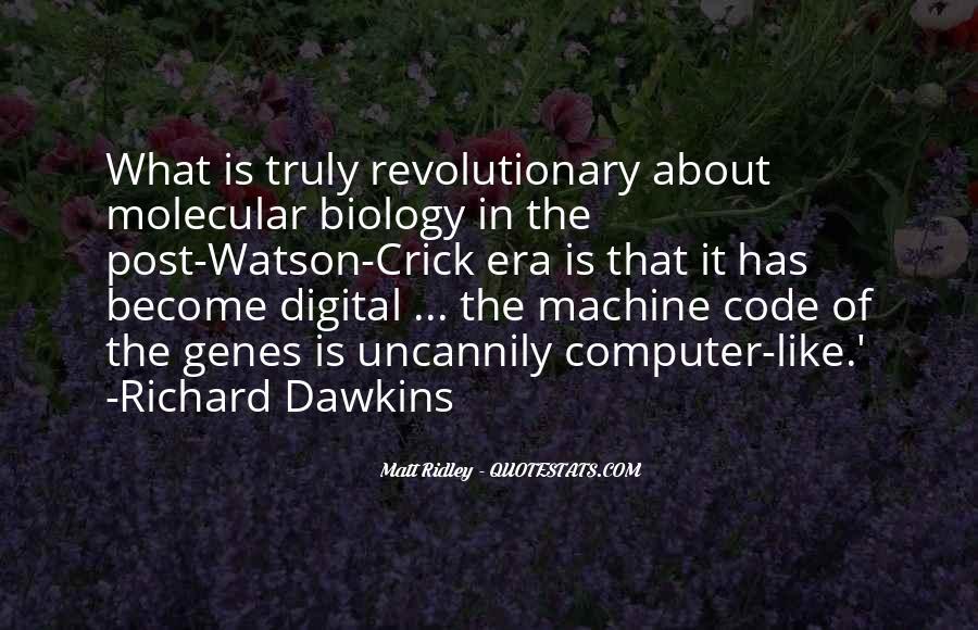 Crick's Quotes #407427