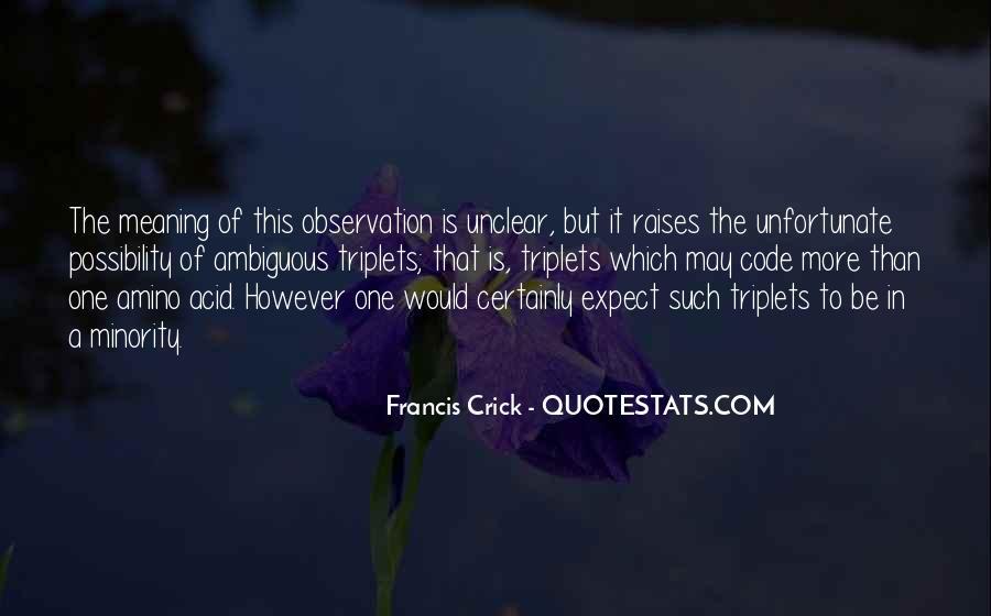 Crick's Quotes #460819