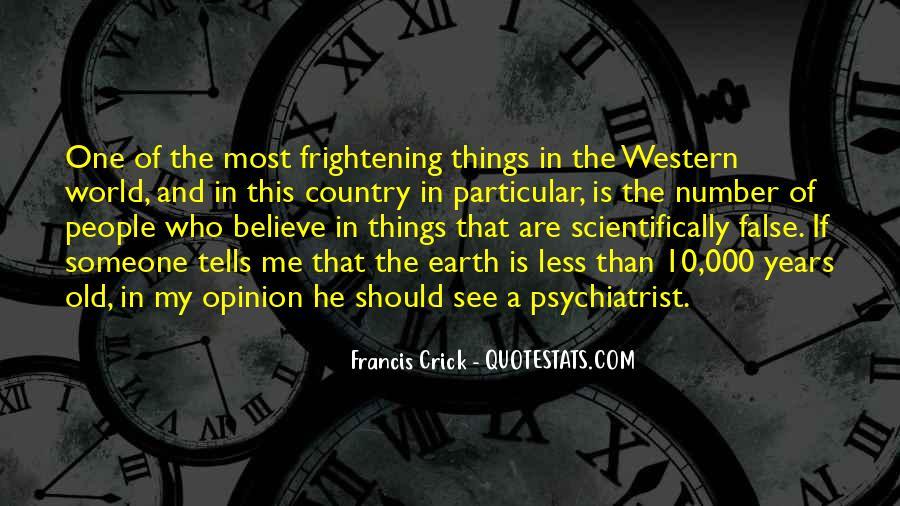 Crick's Quotes #54656