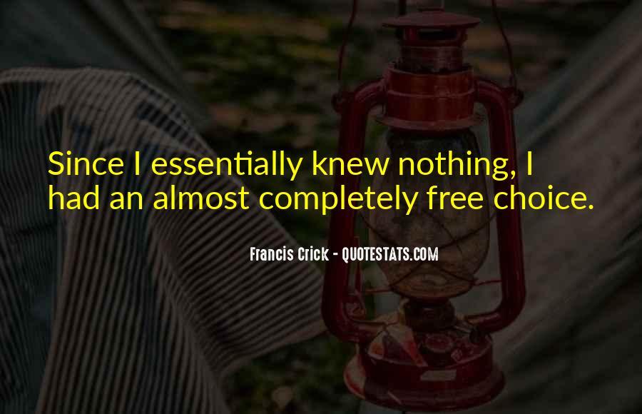 Crick's Quotes #875686