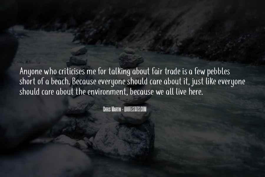 Criticises Quotes #926088