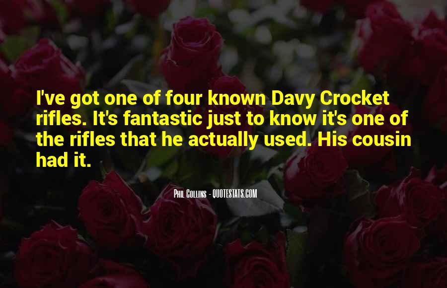 Crocket Quotes #416084