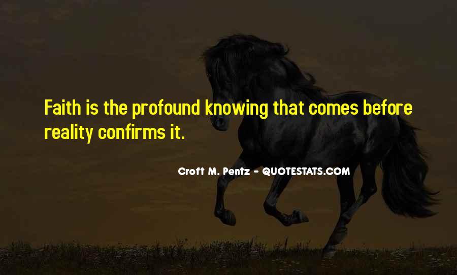Croft's Quotes #840005