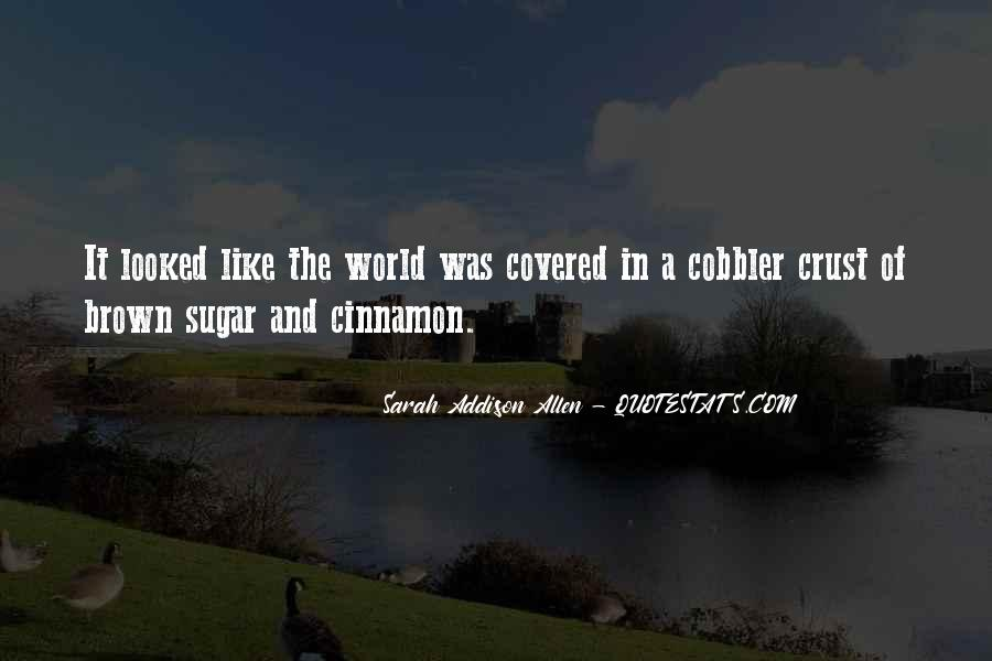 Quotes About Brown Sugar #1574238