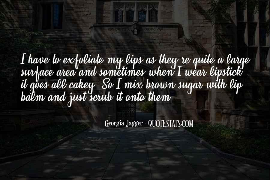 Quotes About Brown Sugar #262924