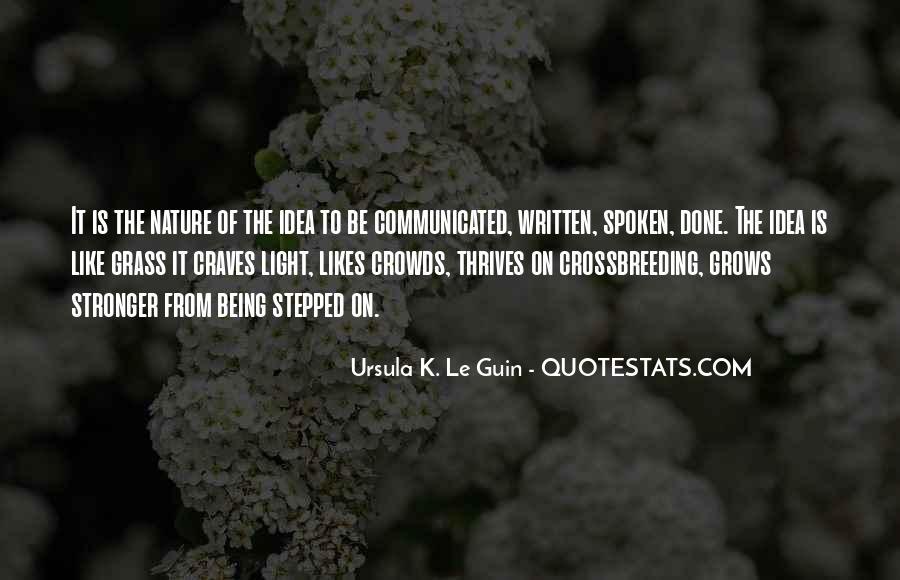Crossbreeding Quotes #762197