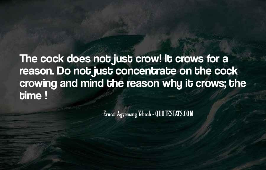 Crowing Quotes #1840701