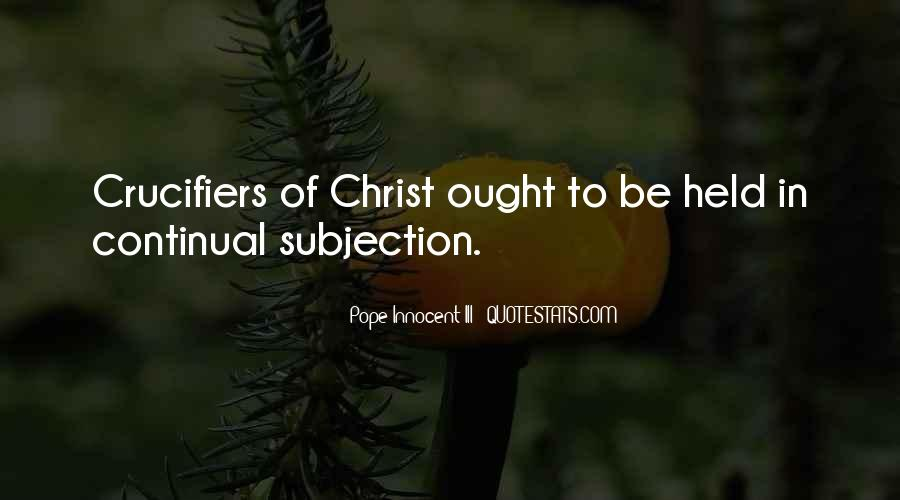 Crucifiers Quotes #523889