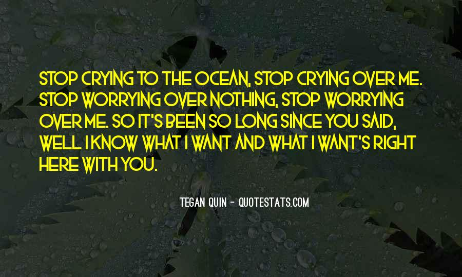 Crying's Quotes #210154