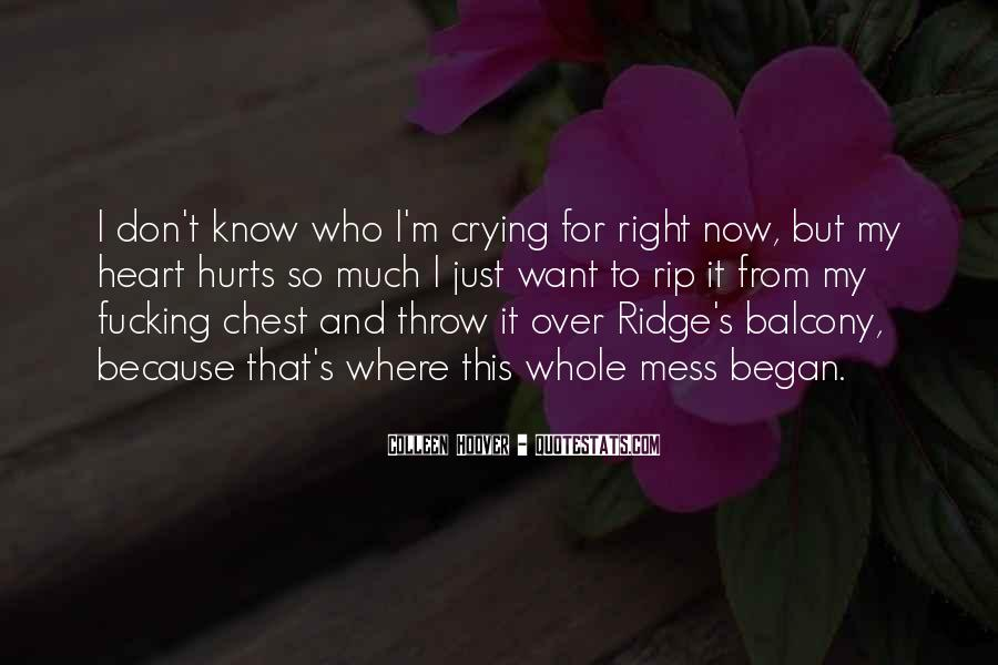 Crying's Quotes #296815