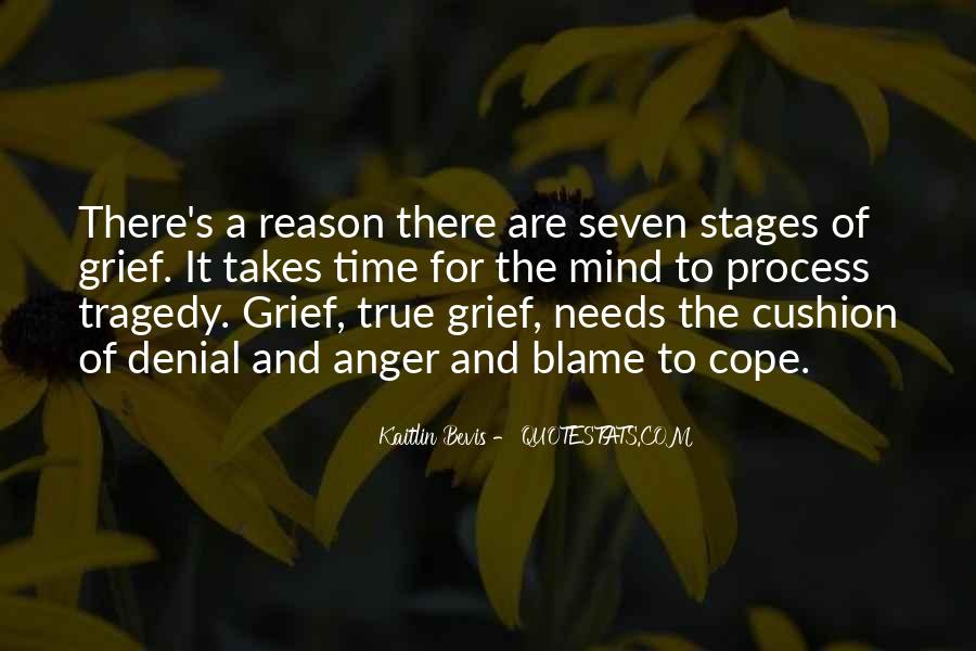 Quotes About Stages Of Grief #331075