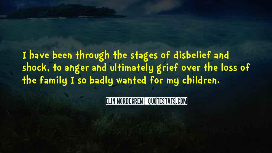 Quotes About Stages Of Grief #646520