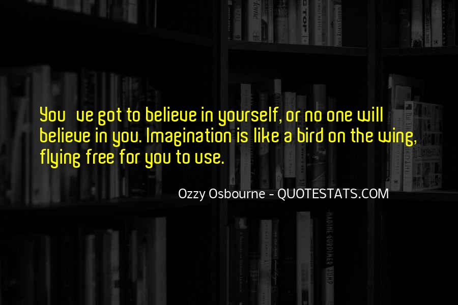 Quotes About Flying With Your Own Wings #285152