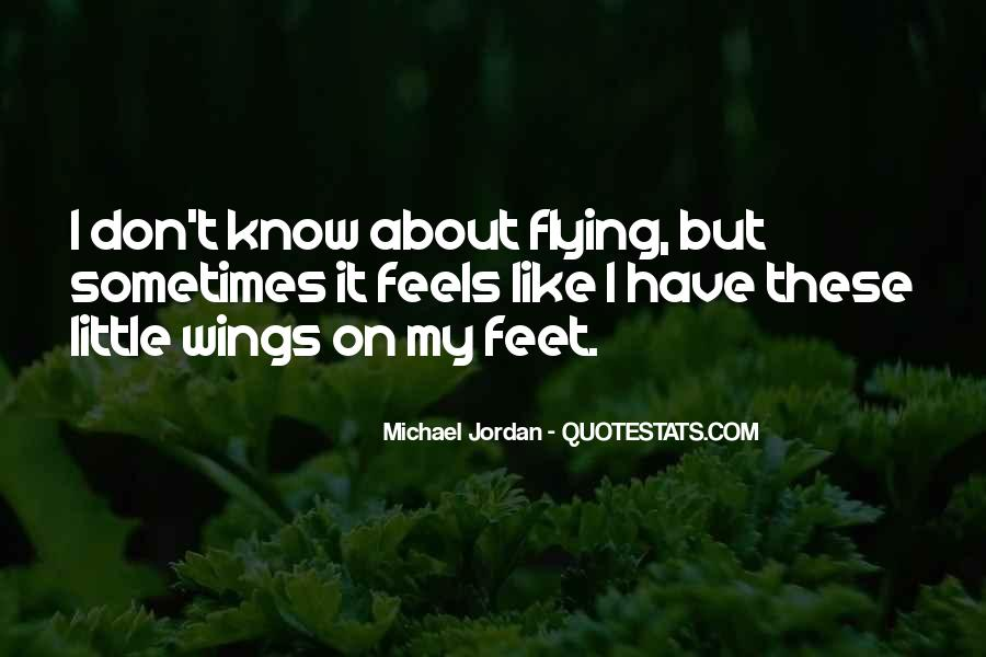 Quotes About Flying With Your Own Wings #420723