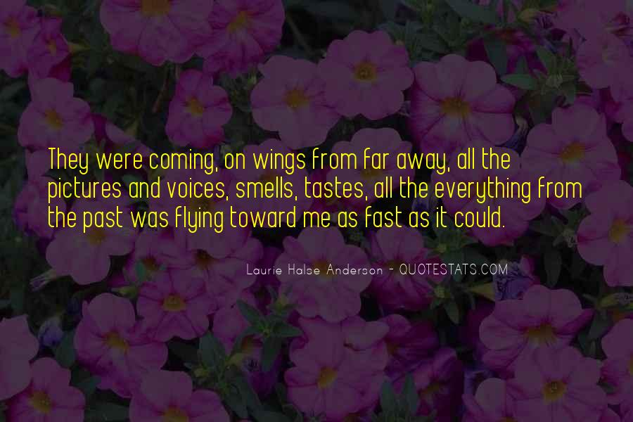 Quotes About Flying With Your Own Wings #550086