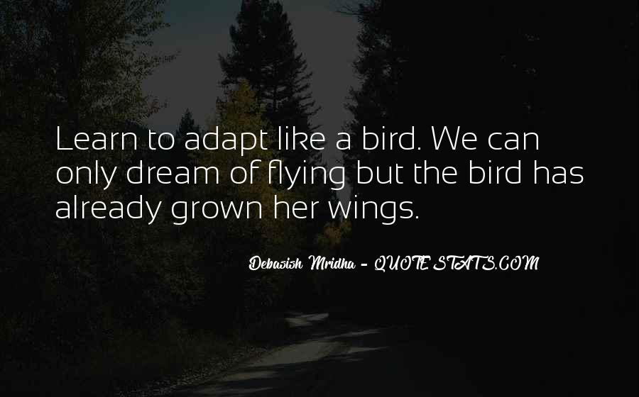 Quotes About Flying With Your Own Wings #591065