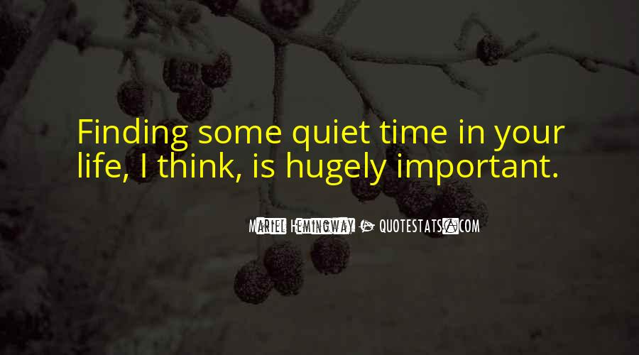 Quotes About Finding Time For Yourself #249914