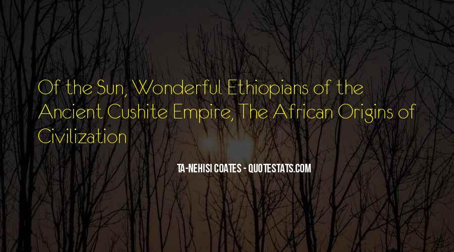 Cushite Quotes #513164
