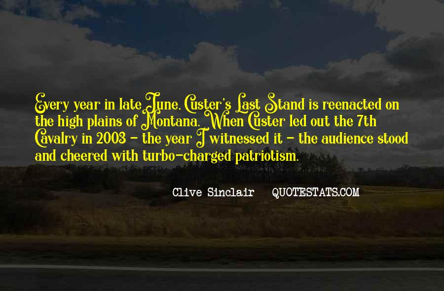 Custer's Quotes #570498
