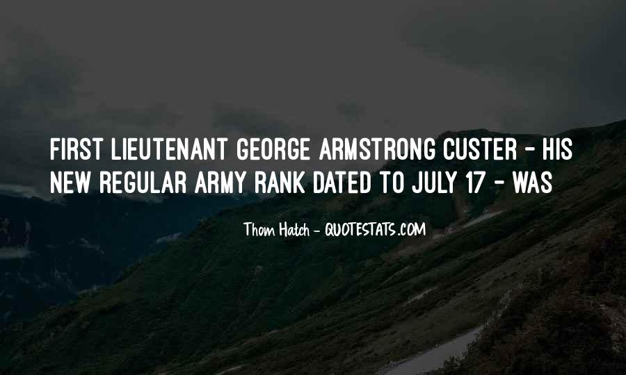 Custer's Quotes #700033