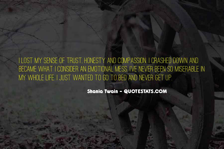 Quotes About Honesty And Trust #119497