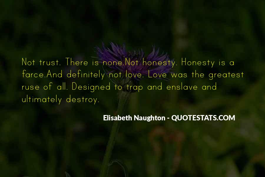 Quotes About Honesty And Trust #1271645